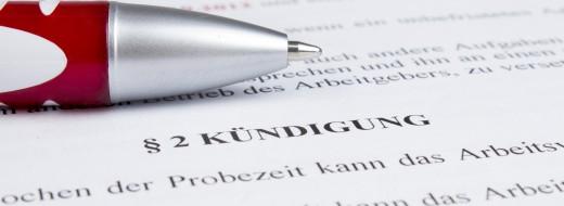 Die Kündigung und Kündigungsschutzklage im Arbeitsrecht